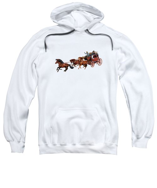 Wells Fargo Stagecoach Sweatshirt
