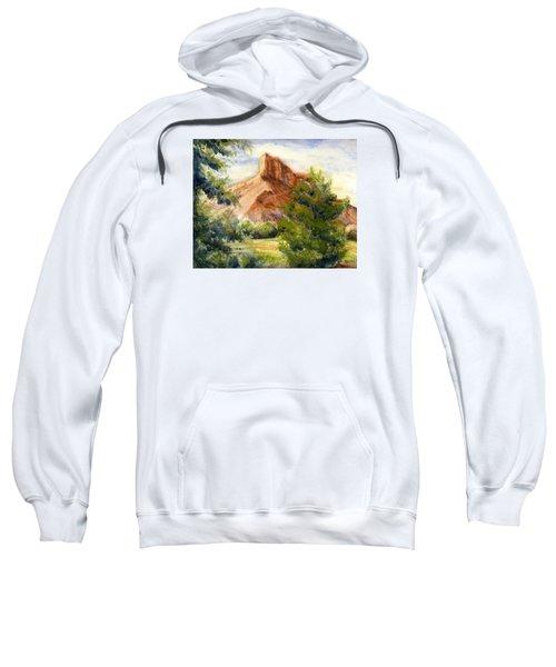 Western Landscape Watercolor Sweatshirt
