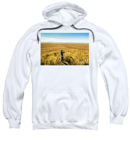 Western Plains Of Tasmania Sweatshirt