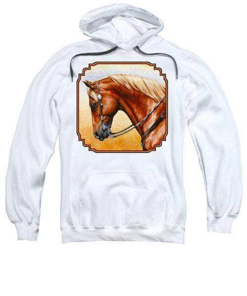 Western Pleasure Horse Phone Case Sweatshirt