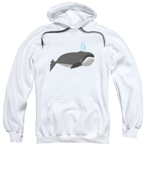 Whale Of A Good Time Sweatshirt by Antique Images