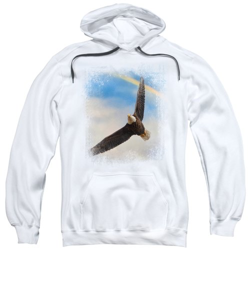 When My Wings Touch The Rainbow Sweatshirt by Jai Johnson