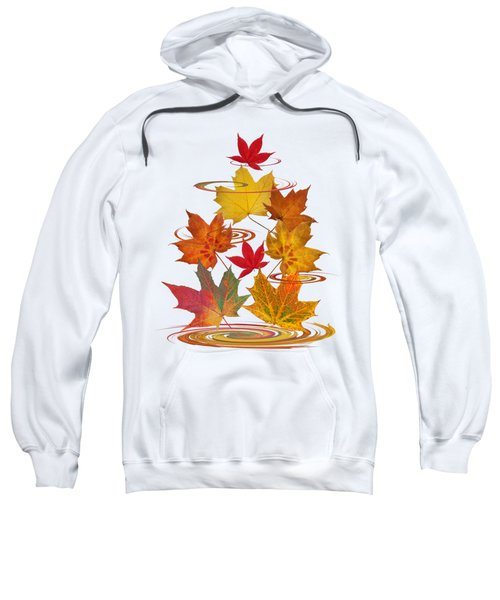 Whirling Autumn Leaves Sweatshirt