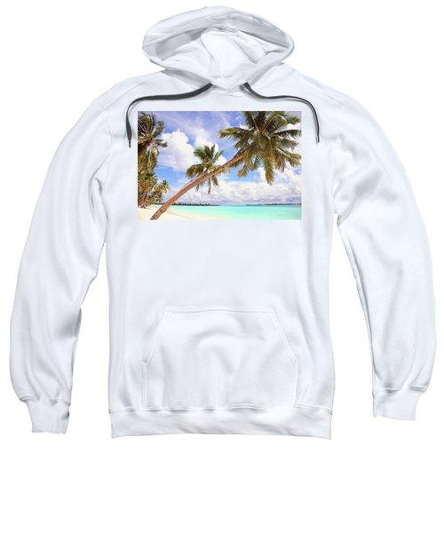 Whispering Palms. Maldives Sweatshirt