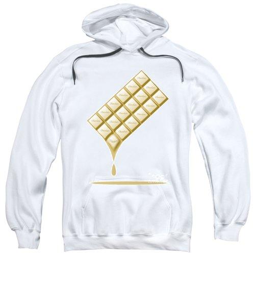 White Chocolate Bar Melting Sweatshirt
