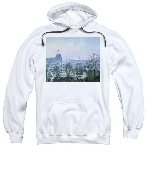 White Frost Jardin Des Tuileries Sweatshirt