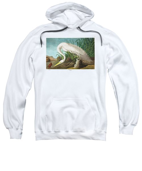 White Heron Sweatshirt