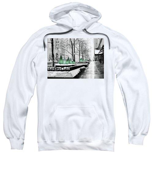 White Mag Mile Christmas Sweatshirt