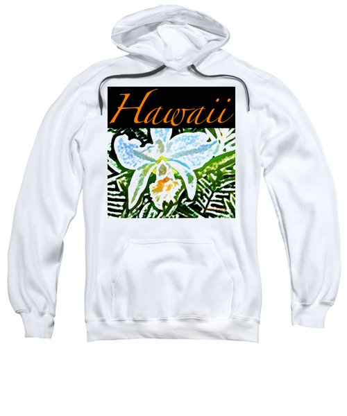 White Orchid T-shirt Sweatshirt