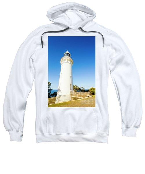 White Seaside Tower Sweatshirt