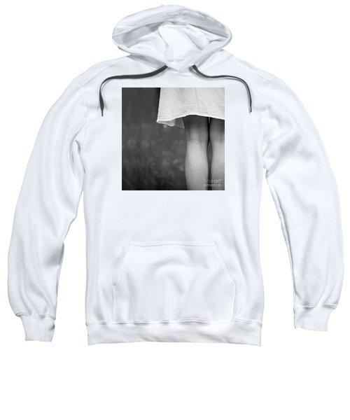White Shirt Sweatshirt
