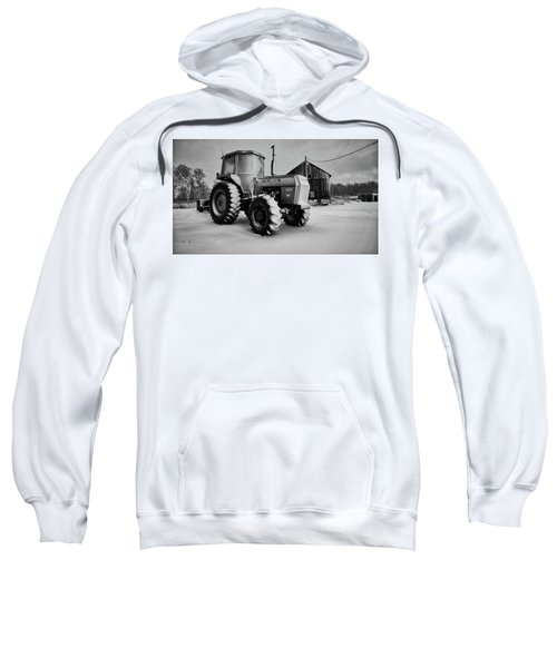 White Tractor Sweatshirt