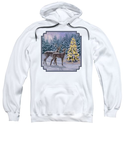 Whitetail Christmas Sweatshirt