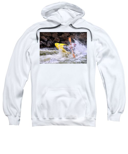 Whitewater On The New River Sweatshirt