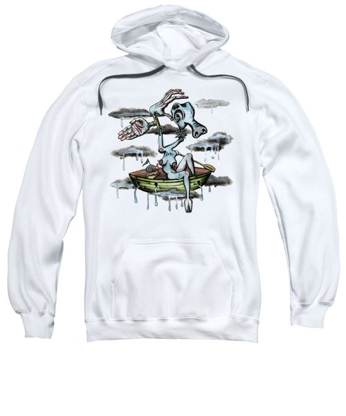 Why Sky Captain Sweatshirt by Kelly Jade King