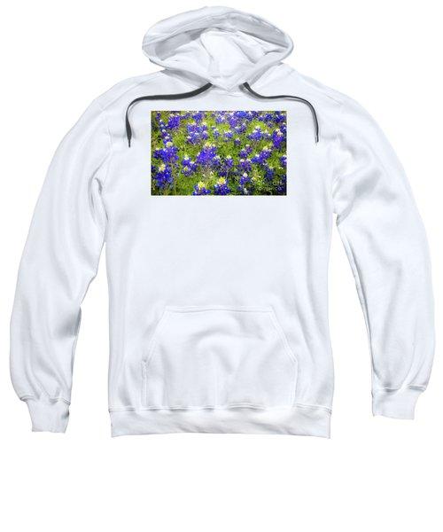 Wild Bluebonnets Blooming Sweatshirt