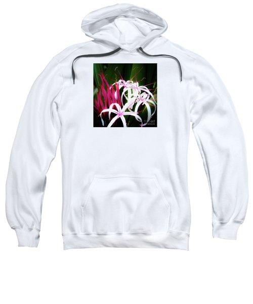 Wild Flowers In Hawaii Sweatshirt