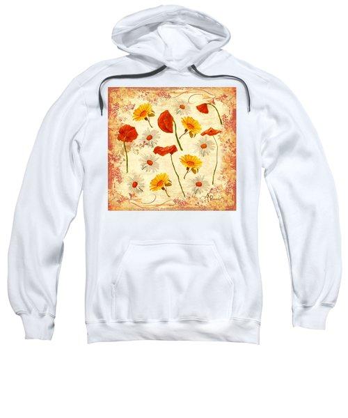 Wild Flowers Vintage Sweatshirt