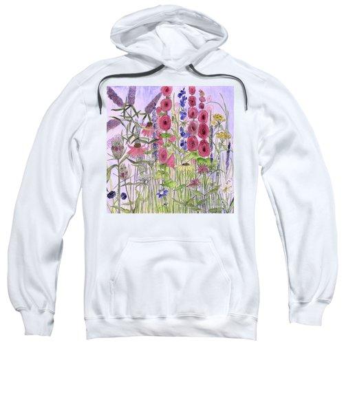Wild Garden Flowers Sweatshirt