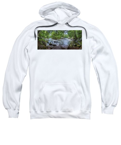 Sweatshirt featuring the photograph Wilderness Waterway by Bill Pevlor