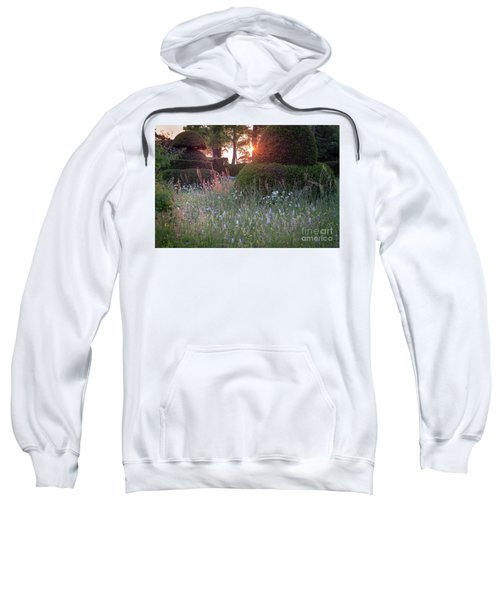 Wildflower Meadow At Sunset, Great Dixter Sweatshirt