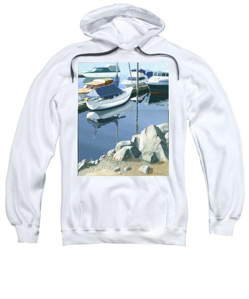 Wildflowers On The Breakwater Sweatshirt