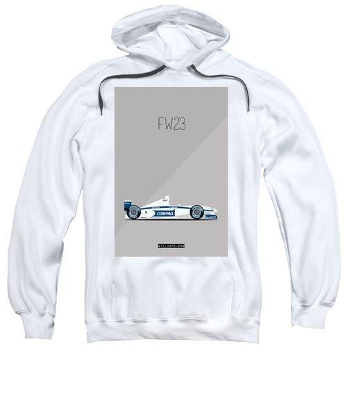 Williams Bmw Fw23 F1 Poster Sweatshirt