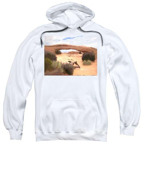 Window On The Valley Sweatshirt