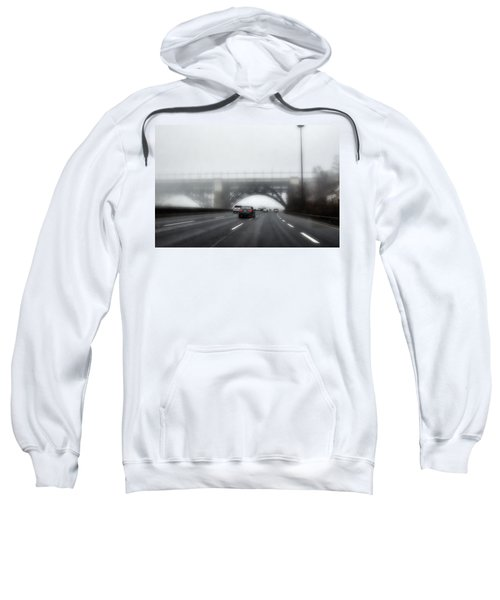 Sweatshirt featuring the photograph Winter-2 by Joseph Amaral