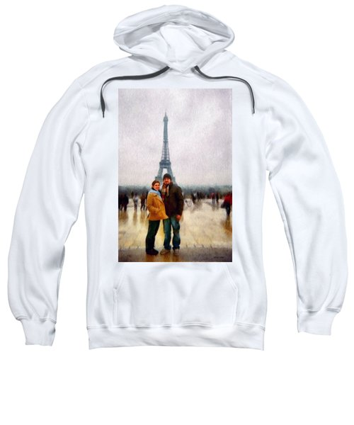 Winter Honeymoon In Paris Sweatshirt