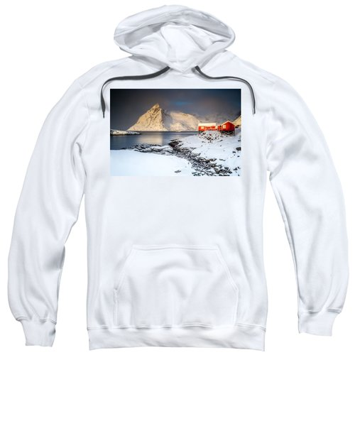 Winter In Lofoten Sweatshirt