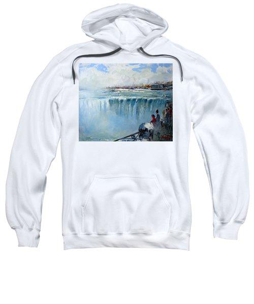 Winter In Niagara Falls Sweatshirt