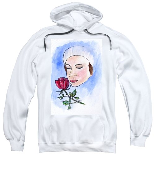 Winter Rose Sweatshirt