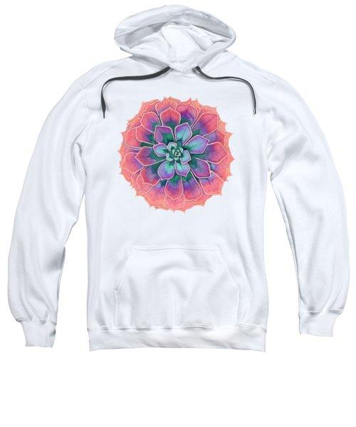 Winter Succulent Sweatshirt