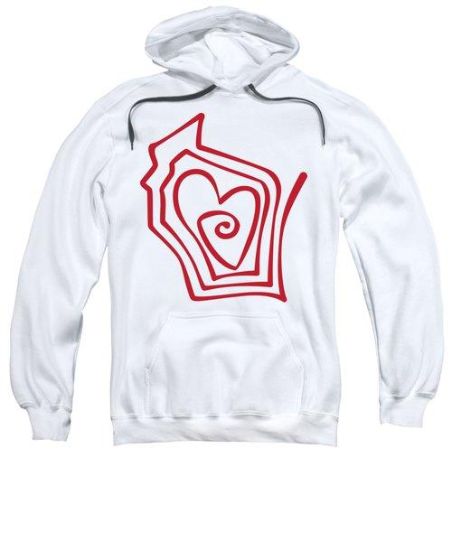 Wisconsin Drawn Sweatshirt