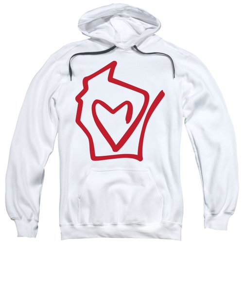 Wisconsin Love Sweatshirt