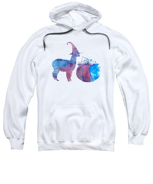 Witch Llama Sweatshirt