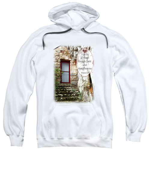 With Me - Verse And Heart Sweatshirt