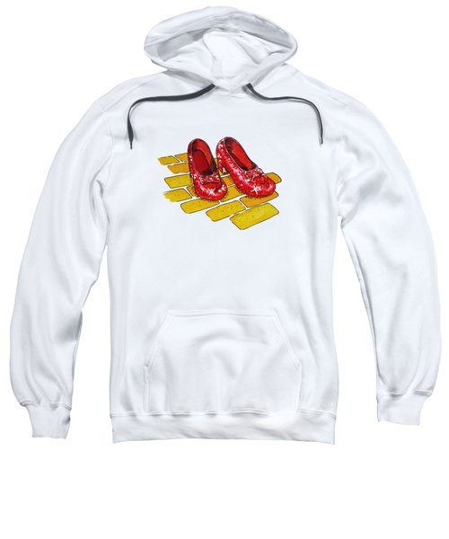 Wizard Of Oz Ruby Slippers Sweatshirt