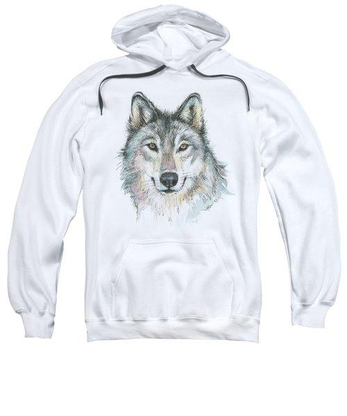 Wolf Sweatshirt by Olga Shvartsur