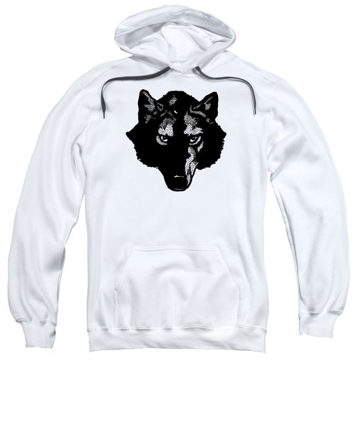 Wolf Tee Sweatshirt by Edward Fielding