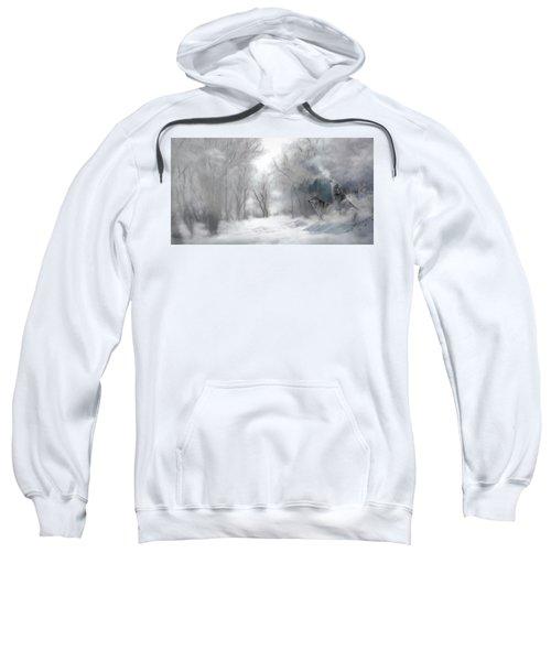 Wolves In The Mist Sweatshirt