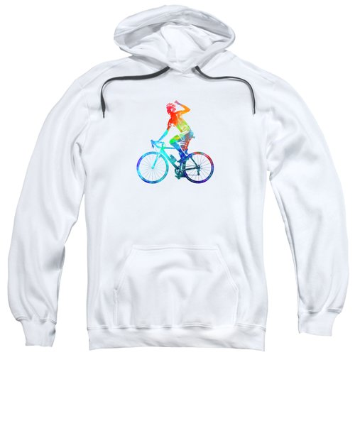 Woman Triathlon Cycling 03 Sweatshirt