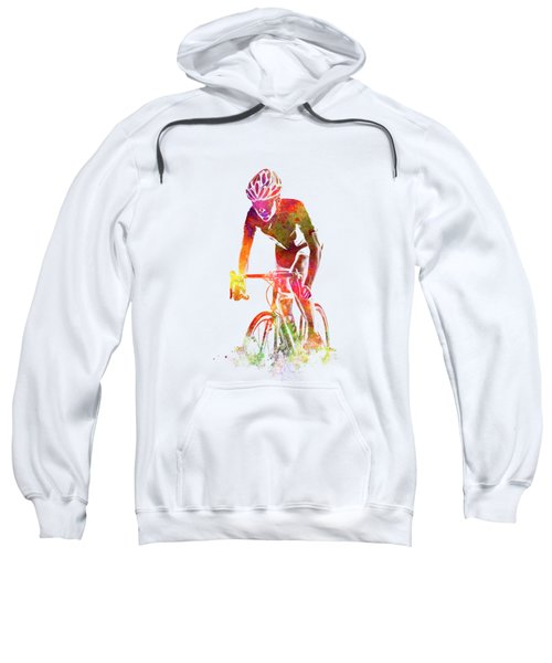 Woman Triathlon Cycling 04 Sweatshirt