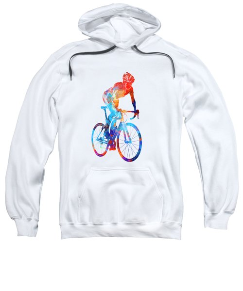 Woman Triathlon Cycling 06 Sweatshirt