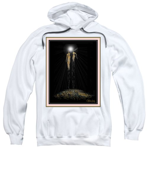 Women Chanting - Full Moon On The Mountain Sweatshirt