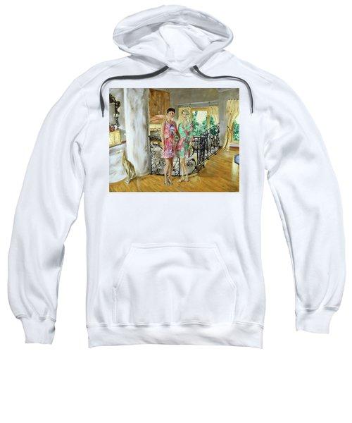 Women In Sunroom Sweatshirt