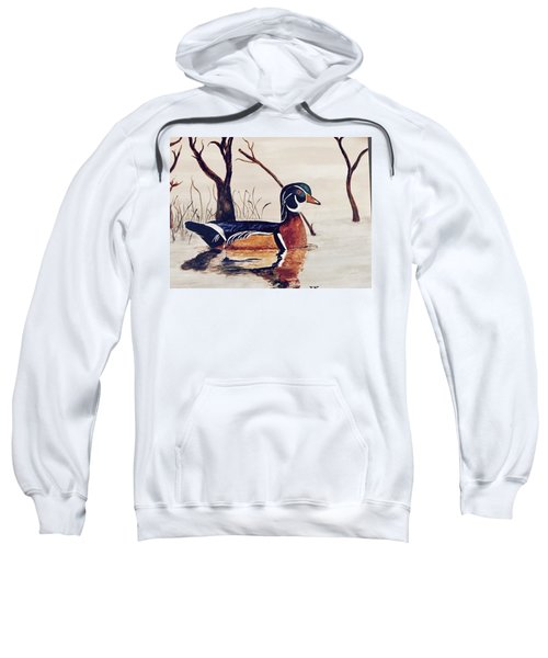 Wood Duck No. 2 Sweatshirt