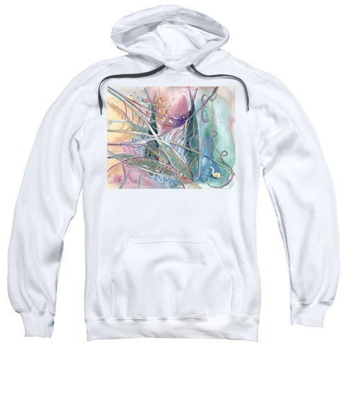 Woven Star Fish Sweatshirt