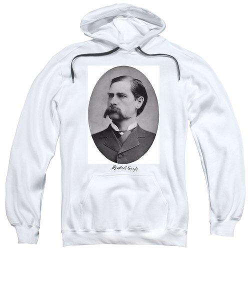Wyatt Earp Autographed Sweatshirt